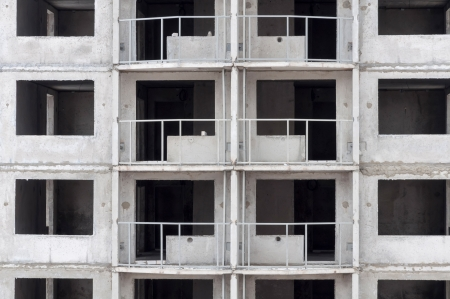 building under construction, a fragment of architecture Stock Photo