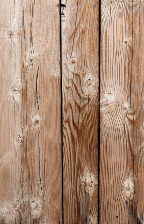 texture of old wood planks with nails Stock Photo