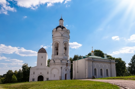 Church of St  George with a bell tower in Kolomenskoye, Moscow  16th century