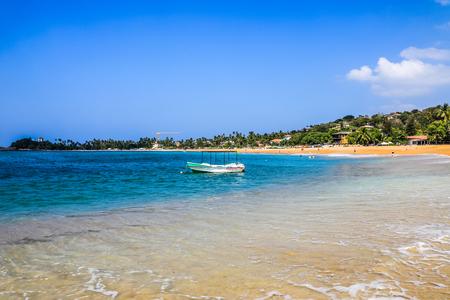 Sri lanka Galle Unawatuna Beach Editorial