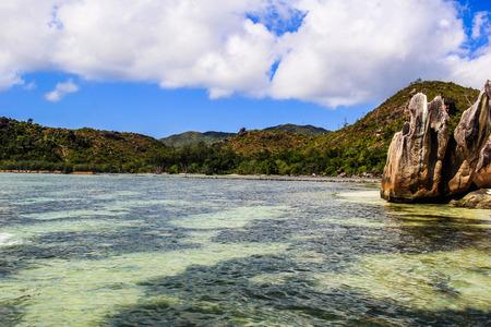 Seychelles Praslin Curieuse Beach