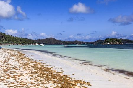 Seychelles Praslin Island Anse Volbert Beach