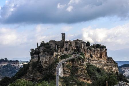 Italy Civita di Bagnoregio Castle in the Sky