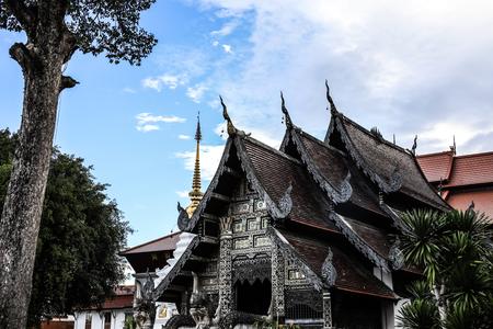 Thailand Chiang Mai Wat Chedi Luang Partial hall