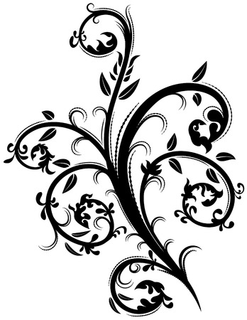 Floral element 35 Ilustração