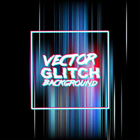 corrupted: glitch background. Digital image data distortion. Corrupted image file. Colorful abstract background for your designs. Glitch effect background ready for your design.