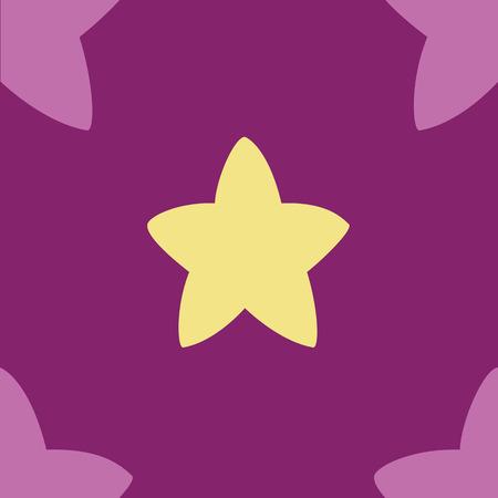 yellow star: vector yellow star Illustration