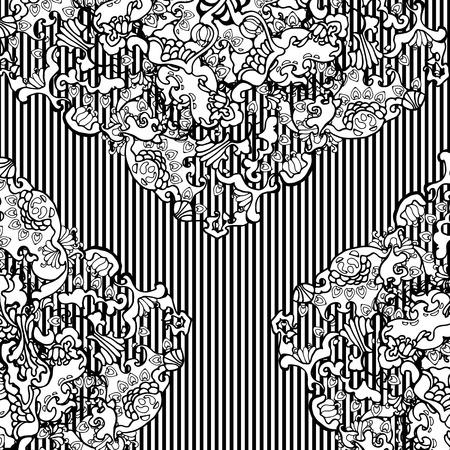 oriental vector: ornament, abstract, oriental, vector, pattern, vintage, old Illustration