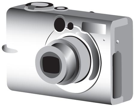 Fully vectorized digital photo camera