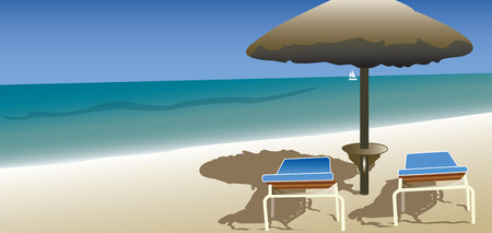 rock salt: Beautiful nature, summer vacation, a small piece of paradise