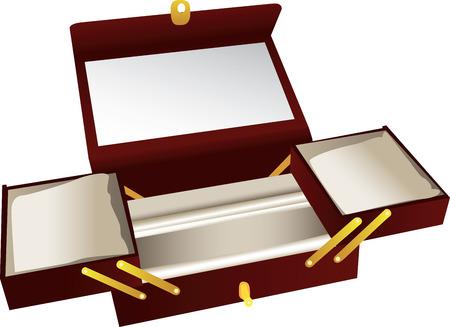 木製の宝石箱