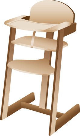 high chair: Silla de beb� o ni�o peque�o