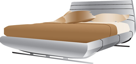 Luxurious double bed