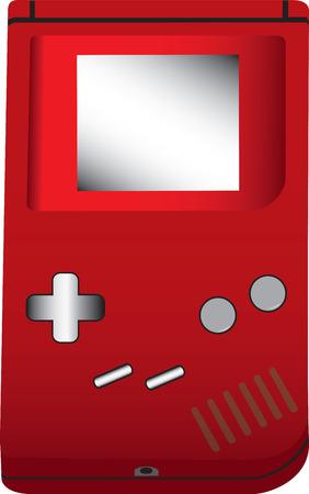 handheld: Handheld game illustration