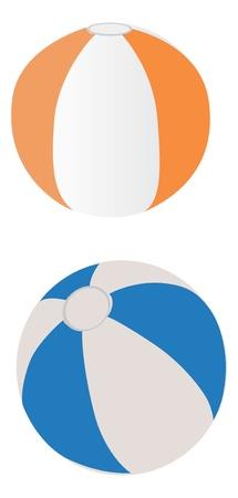 Beach balloons. Ilustração