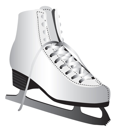 Ice skate Stock Vector - 13650555