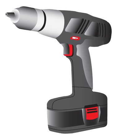 powered: Battery powered drill