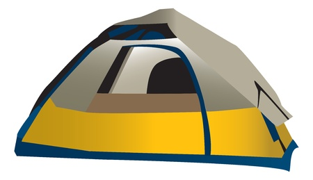 det: Camping tent