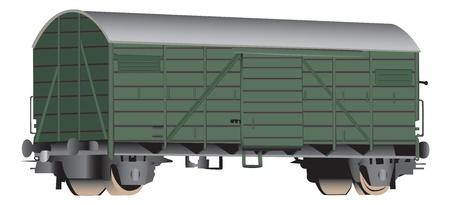 boxcar: 3D railroad boxcar