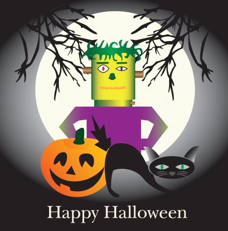 munster: Happy Halloween Illustration