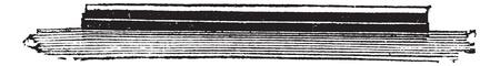 turret: HMS Devastation, vintage engraved illustration. Trousset encyclopedia (1886 - 1891).