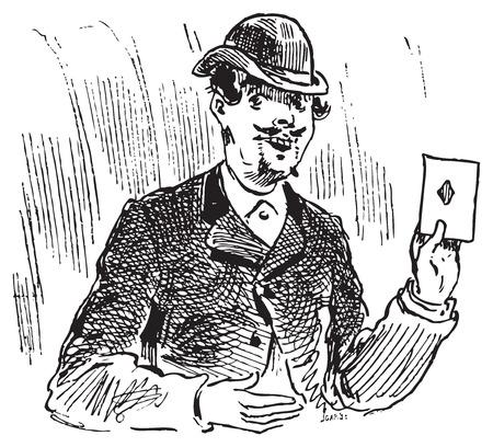彫刻 3 カード トリック。3 カード トリックまたは 3 つのカードモンテの一つです、周り最古の攻略トリック 15 世紀に戻る同じ原則日付に基づいてレ
