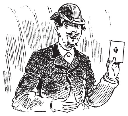 The three card trickster engraving. The three card trick or three card monte is one of the oldest cheats around, as records of tricks based on the same principle date back to the fifteenth century.