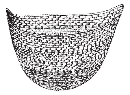 pouch: Pocket knit jockstrap and wings, vintage engraved illustration. Usual Medicine Dictionary by Dr Labarthe - 1885.