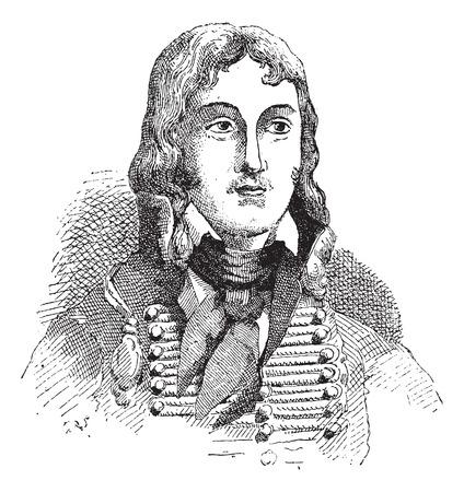 フランソワ ・ セヴラン ・ マルソー-デスグラヴィエ、ヴィンテージには、図が刻まれています。辞書単語や Larive のことやフルーリ - 1895