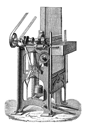 make a paste: Ottmar Walch Press Illustration