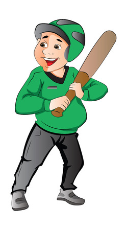 batter: Baseball Player, Batter, illustration