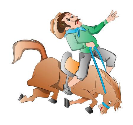 dangerous man: Rodeo, illustration