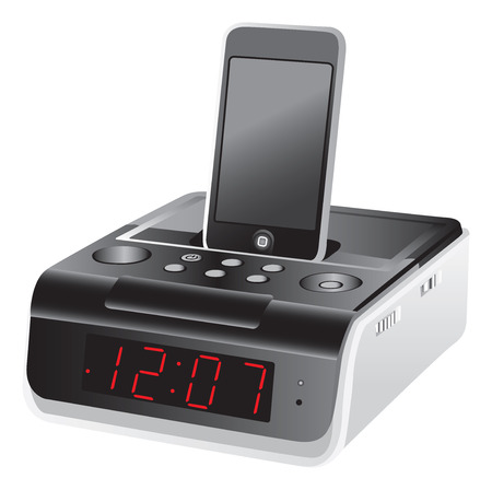 docking: Docking station alarm clock