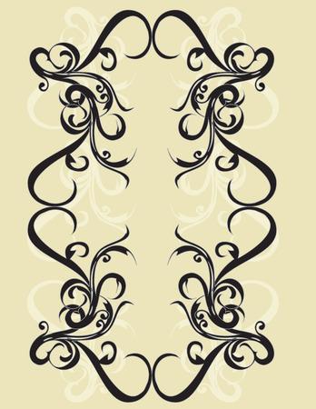 elegance: Elegance vintage vector frame
