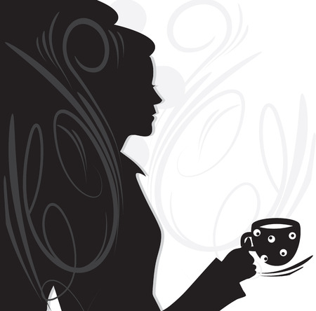 Invitation to coffee with a beautiful girl