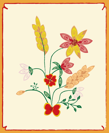 flowers background: Resumen de antecedentes de flores