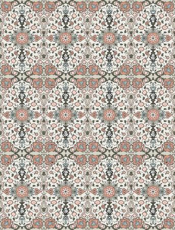 Vintage background with ornate elegant floral design. Vector illustration. Illustration