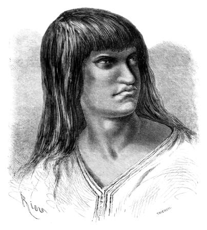 Chacaya インド、ヴィンテージには、図が刻まれています。ル ツアー デュ モンド、トラベル ジャーナル (1865 年)。