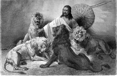 ethiopia: The Negus Theodore II held a hearing, vintage engraved illustration. Le Tour du Monde, Travel Journal, (1865). Stock Photo
