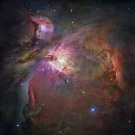 orion: An unprecedented look at the Orion Nebula Stock Photo