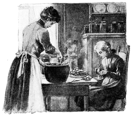 prepare: One who can select, prepare, and combine foods successfully is an artist, vintage engraved illustration. Stock Photo