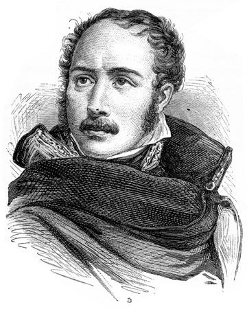 eugene: Eugene de Beauharnais, vintage engraved illustration. History of France – 1885. Stock Photo