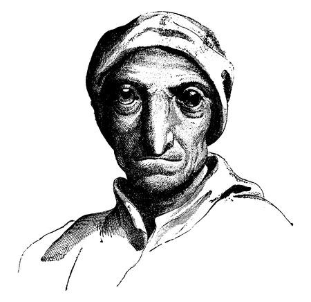resemblance: Parrot, vintage engraved illustration. Earth before man – 1886. Illustration