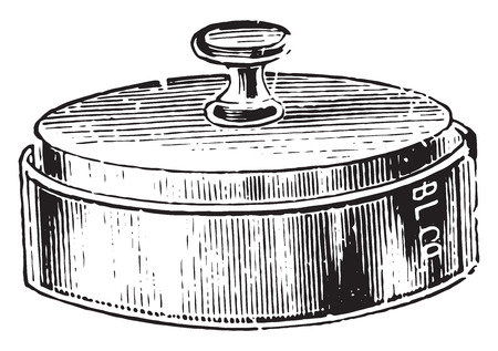 kammare: Moist chamber for potato culture, vintage engraved illustration. Illustration