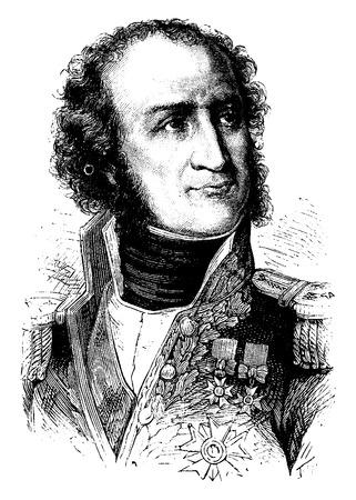 ギョーム ・ マリー ・ アン Brune、ヴィンテージには、図が刻まれています。フランス – 1885年の歴史。
