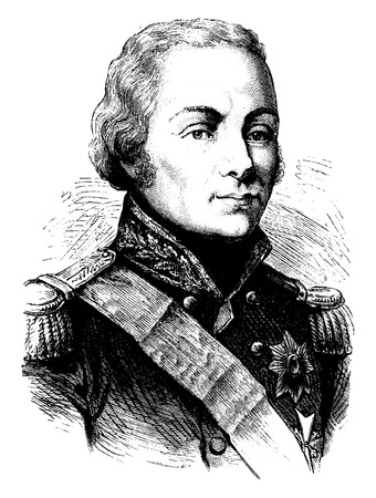 statesman: Rostopchin, vintage engraved illustration. History of France – 1885. Illustration