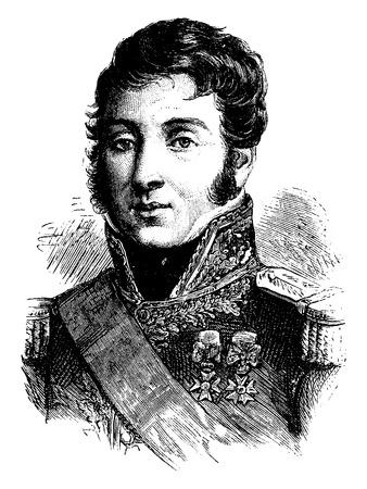 Verdier, gestochen Vintage Illustration. Geschichte von Frankreich - 1885. Standard-Bild - 41713083