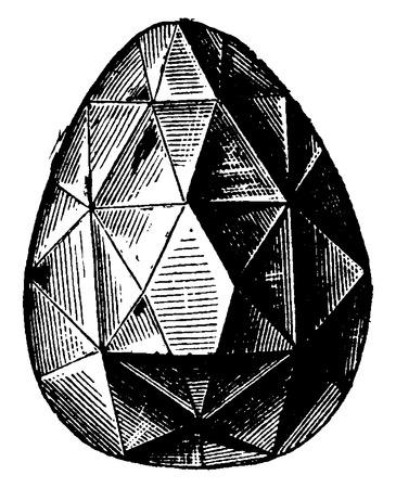 the encyclopedia: Sancy, vintage engraved illustration. Industrial encyclopedia E.-O. Lami - 1875.