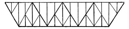 Triangular system dials, vintage engraved illustration. Industrial encyclopedia E.-O. Lami - 1875.