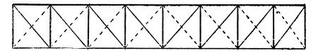 Type Pratt, vintage engraved illustration. Industrial encyclopedia E.-O. Lami - 1875.